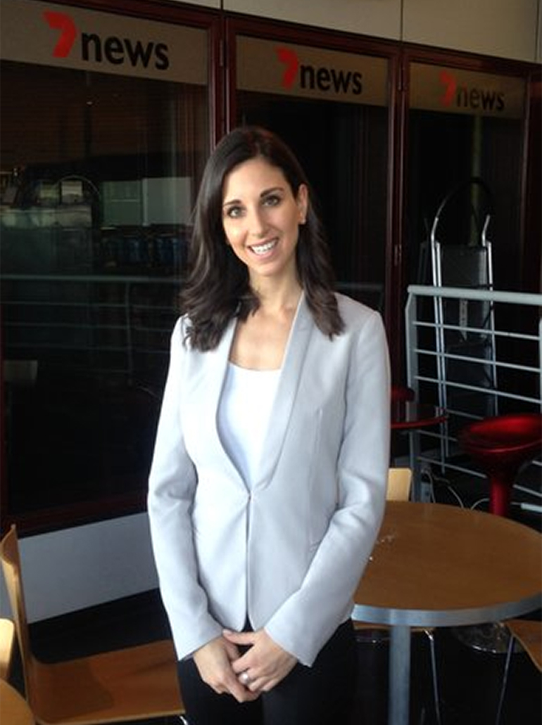 Melina Sarris, journalist at Seven News – The Standard